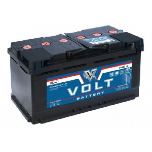 Автомобильный аккумулятор VOLT VOLT CLASSIC 90L 690А прямая полярность 90 А/ч (352x175x192)-6648959