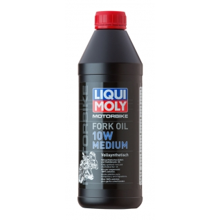 Моторное масло LIQUI MOLY Motorrad Fork Oil Medium 10W 0.5л-5921877