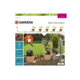 Комплект для террас Gardena микрокапельного полива террасовый, базовый