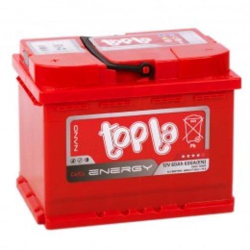 Автомобильный аккумулятор Topla Topla Energy 60R 600А обратная полярность 60 А/ч (242x175x190)-6453743