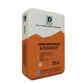 """Клей плиточный """"Клинкер"""" De Luxe 25 кг-6433181"""