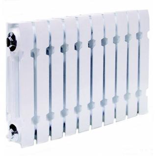 Чугунный секционный радиатор Konner Modern 300, 10 секций с монтажным комплектом-6761971