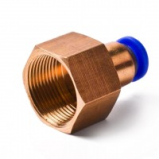 """Фитинг для пластиковых трубок 10мм с внутренней резьбой 1/8"""" Partner-6003635"""