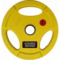 Hammer Диск олимпийский цветной HAMMER STRENGTH HS-15
