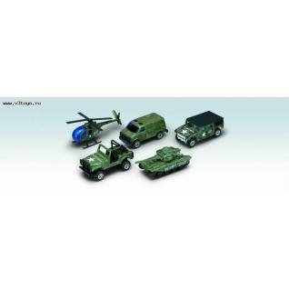 """Набор машин """"Военно-полицейская команда"""" Welly-37725707"""