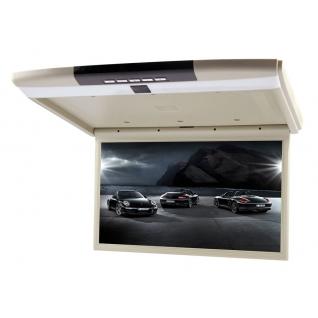 Потолочный монитор в автомобиль 17 дюймов с ТВ тюнером Trinity X-7A (Бежевый)