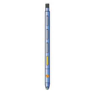 Цифровой скважинный прибор спектрометрического импульсного нейтронного гамма-каротажа (углерод-кислородного каротажа) ЦСП-С/О-90*-8944391