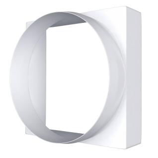 Соединитель квадрата ERA 10КВ 100х100 круг воздух D100 (30шт/уп)-6769968