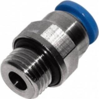 """Фитинг для пластиковых трубок 8мм с наружной резьбой 1/2"""" Partner-6003625"""