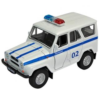 """Инерционная коллекционная машинка """"УАЗ 31514"""" - Полиция, 1:34-39 Welly-37725976"""