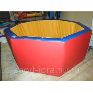 Сухой бассейн восьмиугольныйй d-150см h-50см-5350720