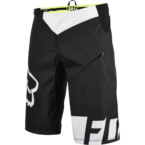 Велошорты Fox Demo DH Short Black/White W36 (12970-018-36)-2004645