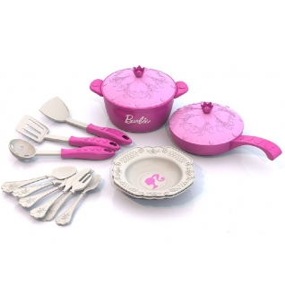 "Набор кухонной посудки ""Барби"", 15 предметов Нордпласт-37742841"