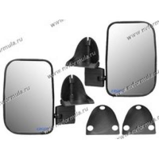 Зеркало боковое 2121 левое+правое черные антиблик нейтральный ERGON-419298
