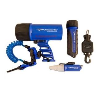 Набор из 3-х фонарей для дайвинга Princeton Tec Adventure Pack Blue ...