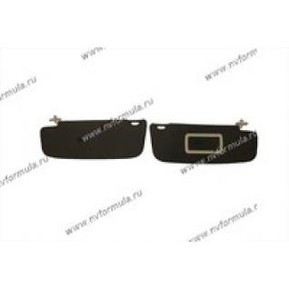 Козырьки солнцезащитные 2190 Granta жесткие с зеркалом-420060