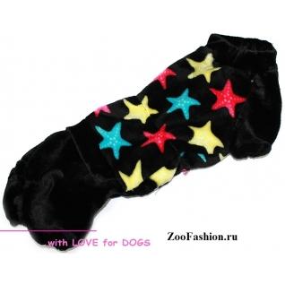 """Одежда для таксы. Комбинезон """"Color Stars"""" мальчик. (36-38см)-771935"""