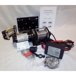Лебедка автомобильная ATV Electric Winch 12v 3000 LBS-1975936