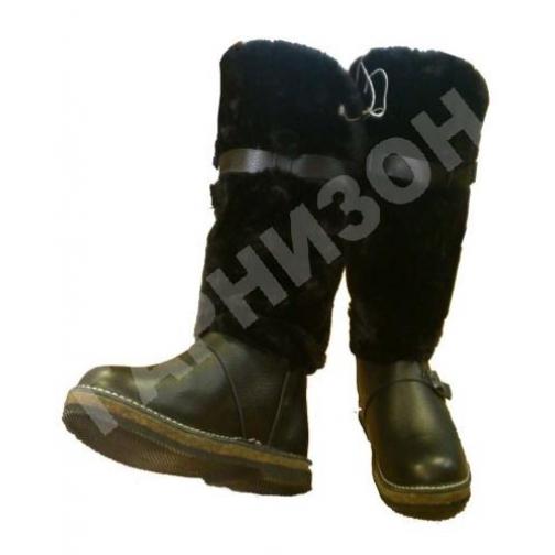 Унты меховые мужские-10781