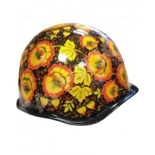 Каска армейская стальная (хохлома-Премиум)-8170379