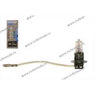 Лампа галоген 12V Н3 55W Pk22s Новатор-415654