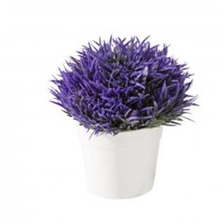 Искусственный цветок GRASS фиолетовый-7170143