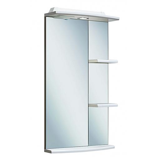 Зеркало Runo Азов 40, белый-6814126