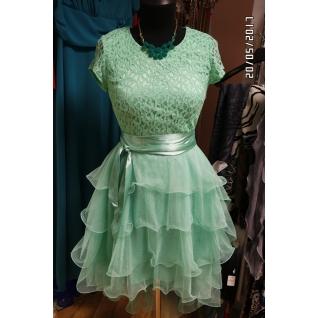Вечернее платье 46 размер-6679651