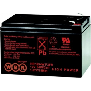WBR Батарея WBR HR 1234W F2 (12 В, 9а/ч) HR1234W F2