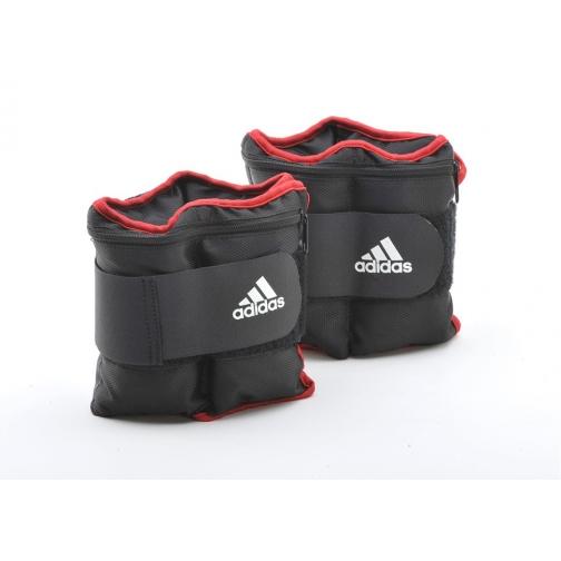 Adidas Утяжелители на запястья/лодыжки Adidas, (2шт х 1кг) ADWT-12229-454141