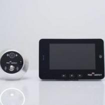 Видеоглазок в дверь с записью на SD карту, звонкоми датчиком движения PST-4,3DM