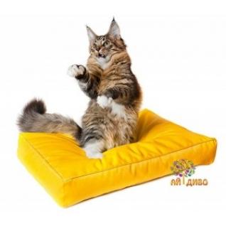 Лежанка для кошек и собак прямоугольная, Зима-лето