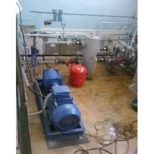 Системы отопления свинарников, насос-теплогенератор НТГ-090-465046