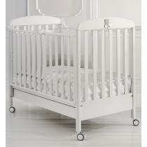 Кровать Baby Expert Детская кровать Tato белая