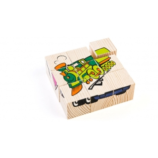 "Кубики ""Сложи рисунок: транспорт"" Томик-37746463"