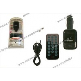 Трансмиттер FM Intego FM-110 USB/SD-9061116