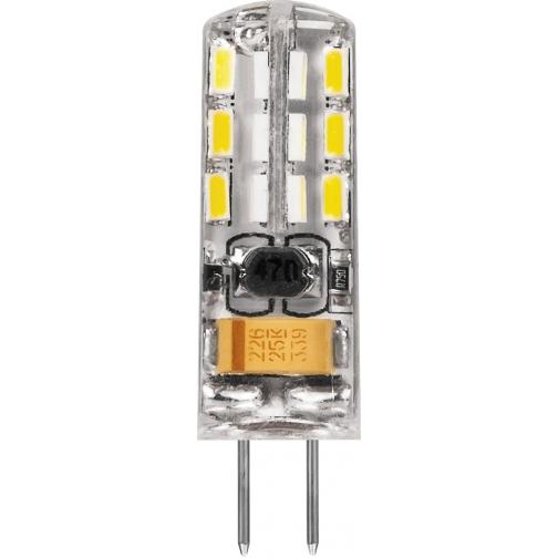 Светодиодная лампа Feron LB-420 (2W) 12V G4 2700K-8164377