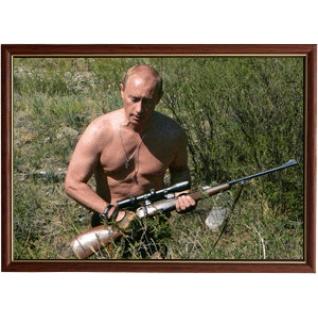 Портрет Президента Владимира Путина - 29 в рамке и со стеклом 30х40-6102931