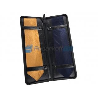 Чехол для галстуков Alessandro Venanzi, черный-762837