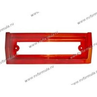 Рамка катафот заднего номерного знака 2105,07 красная-431288