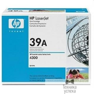 Hp HP Q1339A Картридж, Black LJ4300, (18 000 стр.)