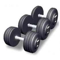 Body Solid Обрезиненный гантельный ряд Body Solid FDS-09/25 от 2.5 до 25 кг (10 пар)