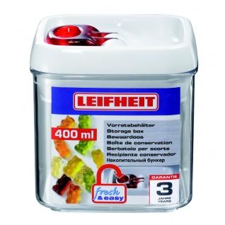 Контейнер Leifheit Fresh&Easy квадратный 0,4 л