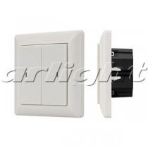 Arlight Панель Knob SR-KN0200-IN White (KNX, DIM)