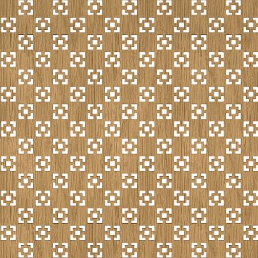 Декоративная решетка Presko Техно 60х60-6768378