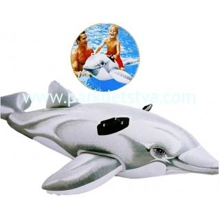 Игрушка надувная для плавания Intex Дельфин 175 х 66 см-847953