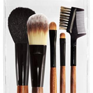 Профессиональные кисти для макияжа - Набор JEANS из 5 кистей для макияжа 5-01-2147092