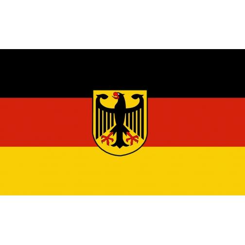 Made in Germany Флаг Германии с изображением орла-5035338