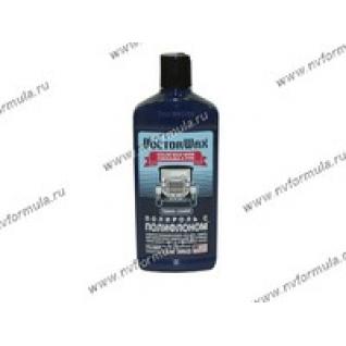 Полироль кузова Doctor Wax 8433 300мл с полифлоном темно-синяя-417968