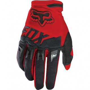 Fox Dirtpaw Race Youth Glove Red (MX16) (2016)